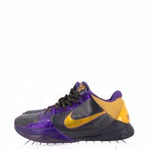 Nike Zoom Kobe 5 Lakers Men's Size 10 VINTAGE